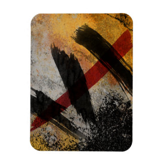 Premium Magnet, The Scar Digital Abstract Painting Magnet