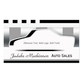Premium Metallic - Auto Sales Business Card