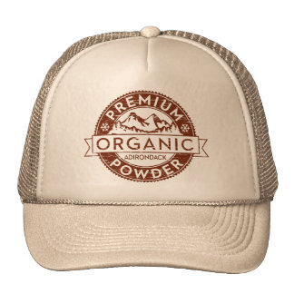 Premium Organic Adirondack Powder Mesh Hat