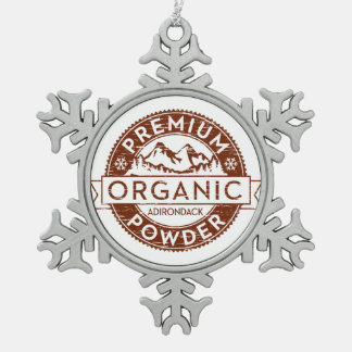 Premium Organic Adirondack Powder Ornament