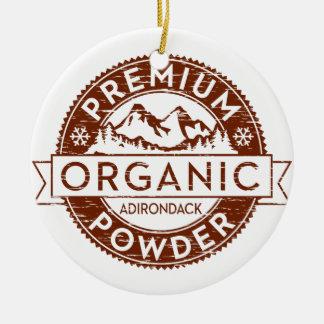 Premium Organic Adirondack Powder Ornaments
