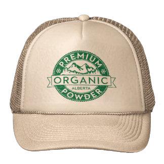 Premium Organic Alberta Powder Mesh Hats