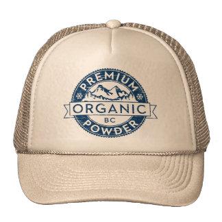 Premium Organic British Columbia Powder Trucker Hats