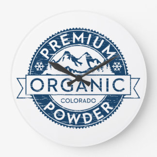Premium Organic Colorado Powder Clock