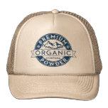 Premium Organic Montana Powder Trucker Hat