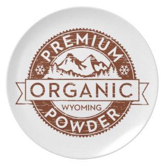 Premium Organic Wyoming Powder Plate