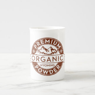 Premium Organic Wyoming Powder Tea Cup