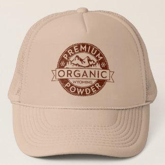 Premium Organic Wyoming Powder Trucker Hat