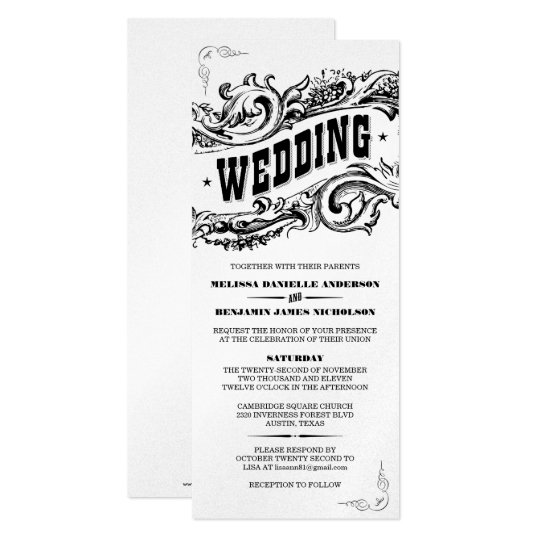 Premium Paper Elegant Western Wedding Invitations