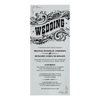 Premium Paper Elegant Western Wedding Invitations