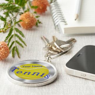 Premium Personalized Tennis Keychains