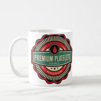 Premium Platelets Classic White Coffee Mug