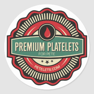 Premium Platelets Stickers — Set of 6