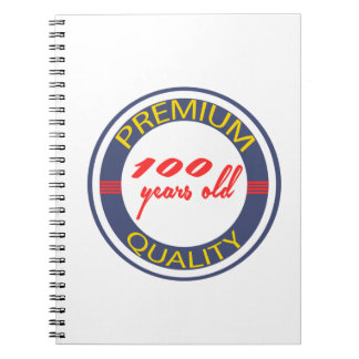 Premium quality 100 years old spiral note books