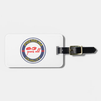 Premium quality 63 years old tags for bags