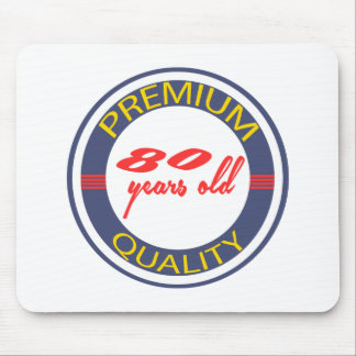 Premium quality 80 years old mouse pad