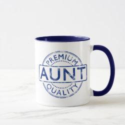 Combo Mug with Premium Quality Aunt design