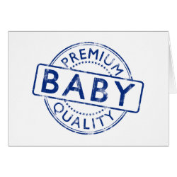 Greeting Card with Premium Quality Baby design