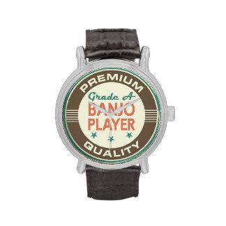 Premium Quality Banjo Player Funny Gift Wrist Watch