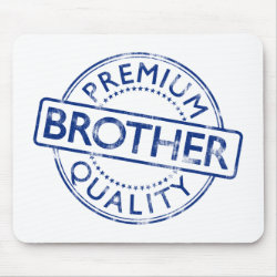 Mousepad with Premium Quality Brother design
