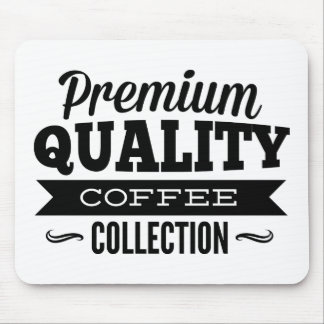 Premium Quality Coffee Collection Mouse Pad
