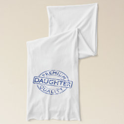 Jersey Scarf with Premium Quality Daughter design