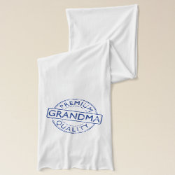 Jersey Scarf with Premium Quality Grandma design