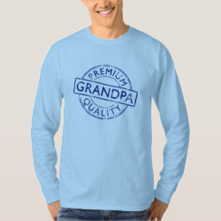 Men's Basic Long Sleeve T-Shirt with Premium Quality Grandpa design