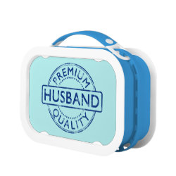 Blue yubo Lunch Box with Premium Quality Husband design