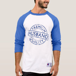 Men's Champion Raglan 3/4 Sleeve Shirt with Premium Quality Husband design