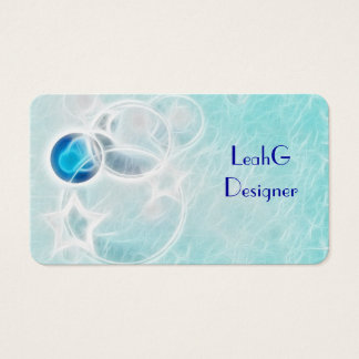 Premium Quality Pale blue abstract water sea cards