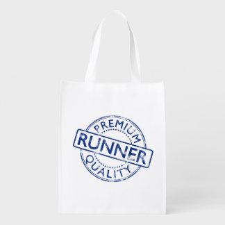Premium Quality Runner Reusable Grocery Bag