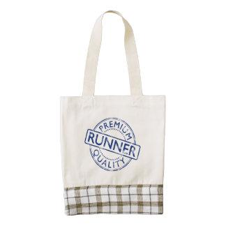 Premium Quality Runner Zazzle HEART Tote Bag