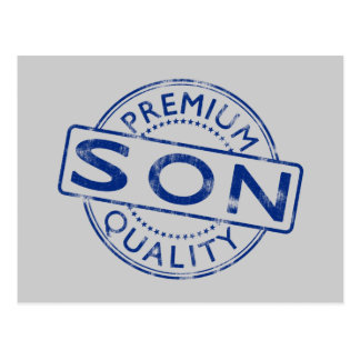 Premium Quality Son Postcard