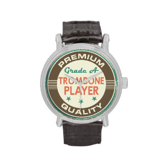 Premium Quality Trombone Player (Funny) Gift Watches