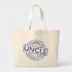 Jumbo Tote Bag with Premium Quality Uncle design