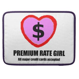 Premium Rate Girl Macbook Sleeve - Credit Cards Sleeves For MacBooks