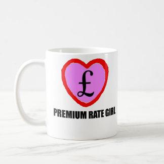 Premium Rate Girl Mug - Sterling