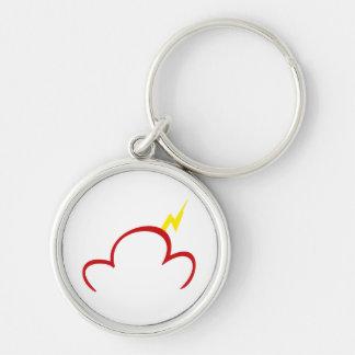 Premium Red Logo Keychain