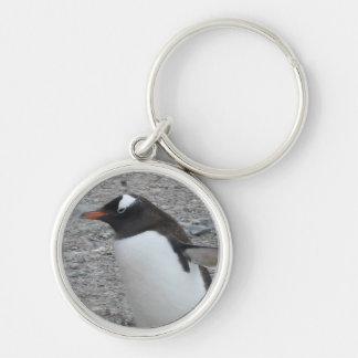 Premium Round Keychain: Penguin Keychain