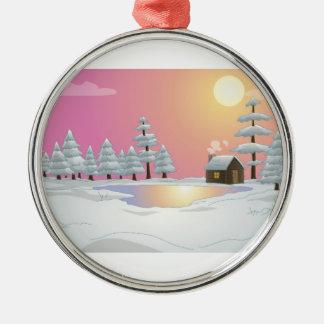 Premium Round Ornament