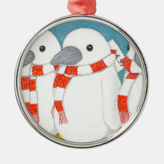 """Premium Round Ornament """"Take me home with you"""""""