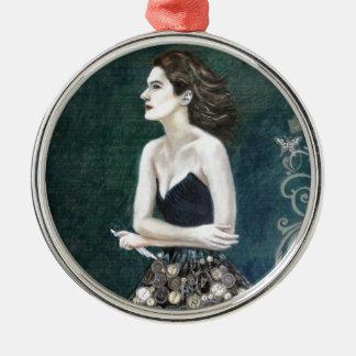 Premium Round Ornament Writers Muse