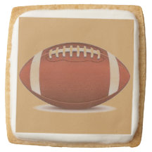 Premium Shortbread Cookies - Set of 4 FOOTBALL