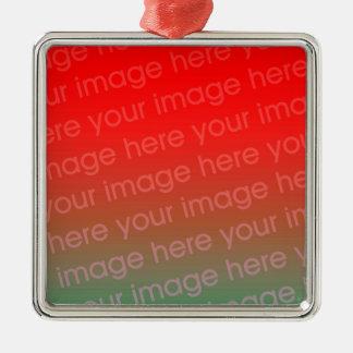 Premium Square Christmas Ornament Template
