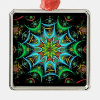 Premium Square Kaleidoscope Ornament #5