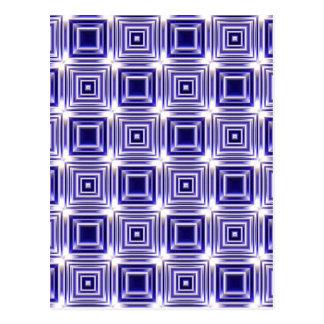 Premium style pattern postcard