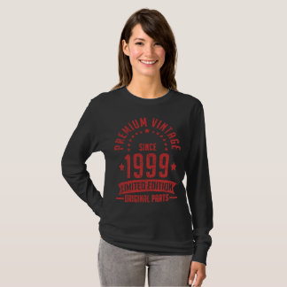 premium vintage since 1999 limited edition T-Shirt