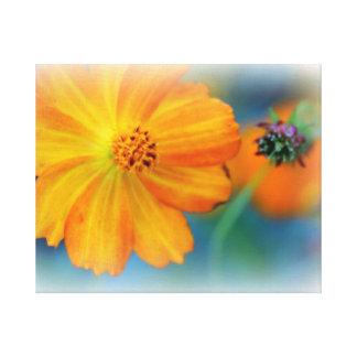 Premium Wrapped Canvas (Gloss) Flowers Canvas Print