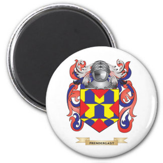 Prendergast Coat of Arms (Family Crest) 2 Inch Round Magnet